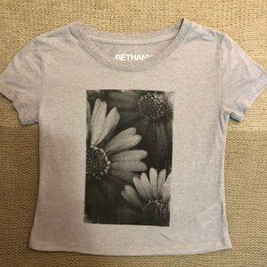 Aeropostale flower graphic tee Bethany Mota